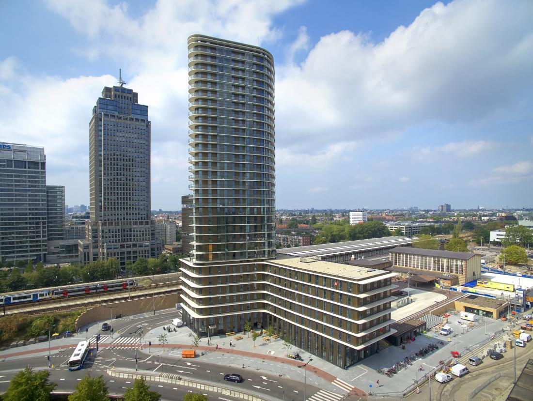 Amstel Tower - (c) Bert Rietberg voor J.P. van Eesteren