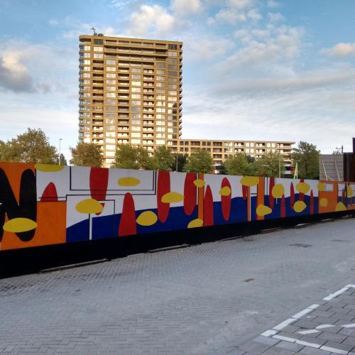 Muurschildering HAUT