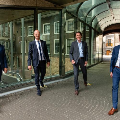 TBI-bedrijven renoveren de Tweede Kamer, foto: (c) Bas Kijzers fotografie